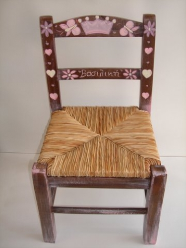 Hand-painted Children's chairs