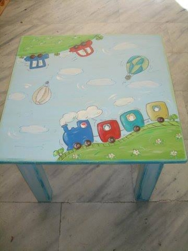 Hand-painted Children's Tables