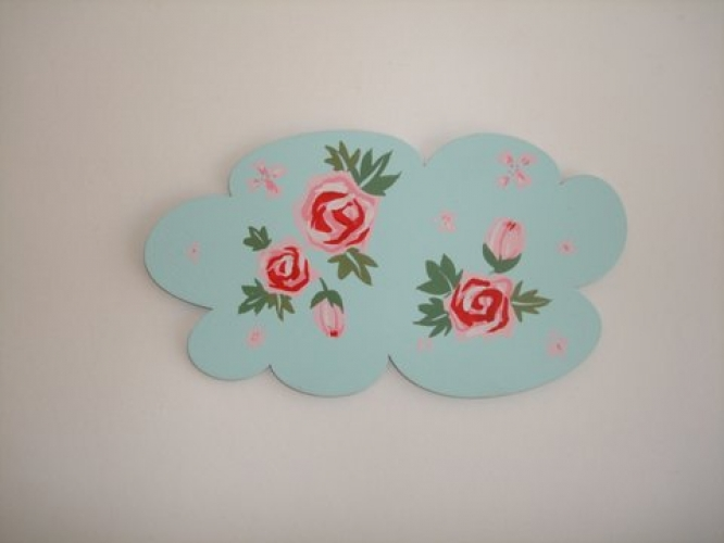Hand-painted Wooden Themes for Christening Candles