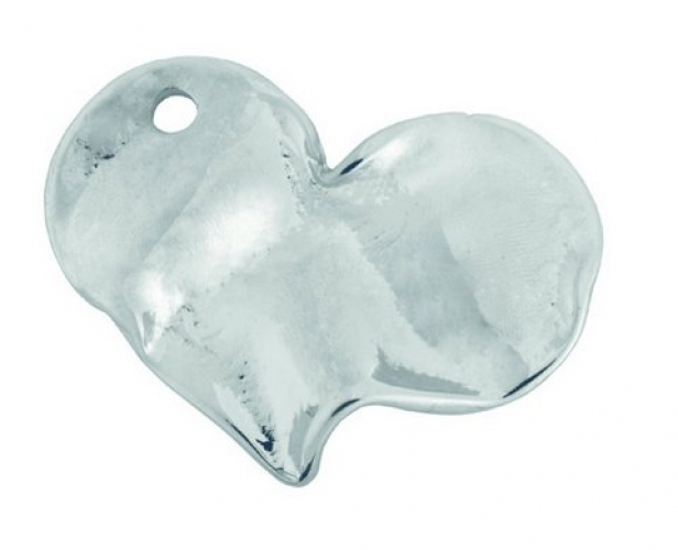 Metal Heart for Wedding Favors.