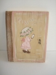 Hand-painted Wooden Christening Wish Books,leather striped.
