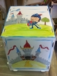 Hand-painted Wooden Toy Boxes
