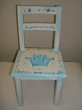 Hand-painted Children's Chairs Crown