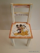 Hand-painted Children's Chairs Mickey