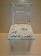 Hand-painted Children's Chairs Seabed