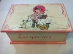 Hand-painted Wooden Boxes