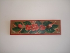 Hand-painted Wooden Hanger.