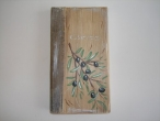Hand Painted Wooden Address Book