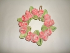 Hand Painted Ceramic Wreath
