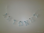 Hand-painted Wooden Garlands Names
