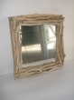 Hand made Sea Wood & Cedar Wood Mirror.